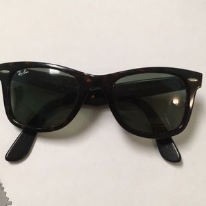 Ray-Ban Accessories - Tortoise color Ray-Ban sunglasses